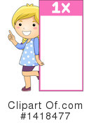 Girl Clipart #1418477 by BNP Design Studio