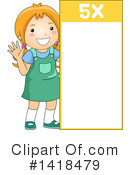 Girl Clipart #1418479 by BNP Design Studio