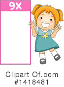 Girl Clipart #1418481 by BNP Design Studio