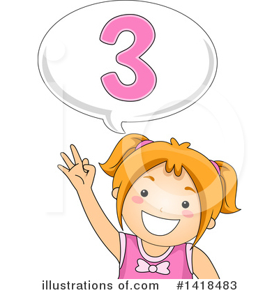 Number Clipart #1418483 by BNP Design Studio