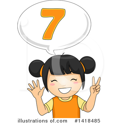 Number Clipart #1418485 by BNP Design Studio