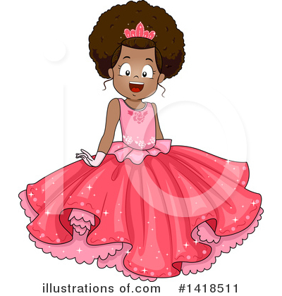 Princess Clipart #1418511 by BNP Design Studio