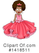 Royalty-Free (RF) Girl Clipart Illustration #1418511