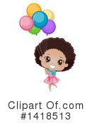 Royalty-Free (RF) Girl Clipart Illustration #1418513