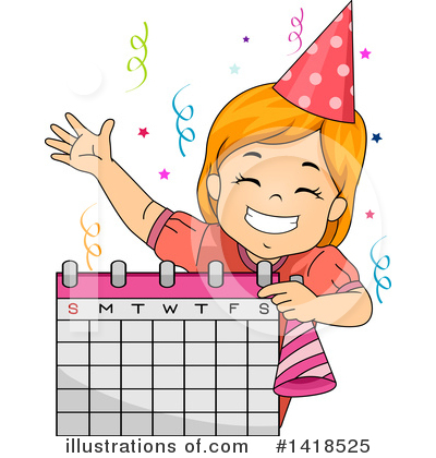 Calendar Clipart #1418525 by BNP Design Studio