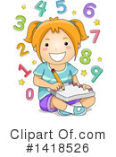 Girl Clipart #1418526 by BNP Design Studio