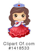 Royalty-Free (RF) Girl Clipart Illustration #1418533