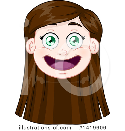 Girl Clipart #1419606 by Liron Peer