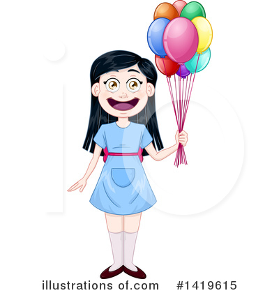 Girl Clipart #1419615 by Liron Peer