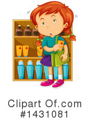 Girl Clipart #1431081 by Graphics RF