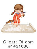 Girl Clipart #1431086 by Graphics RF
