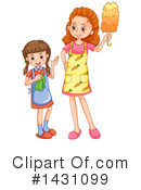 Girl Clipart #1431099 by Graphics RF