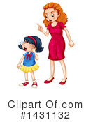 Girl Clipart #1431132 by Graphics RF