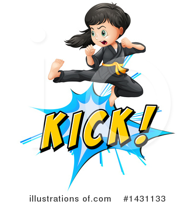 Karate Clipart #1431133 by Graphics RF