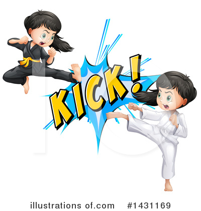Karate Clipart #1431169 by Graphics RF