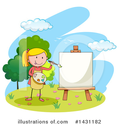 Painting Clipart #1431182 by Graphics RF