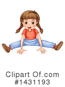Girl Clipart #1431193 by Graphics RF