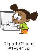 Girl Clipart #1434192 by toonaday