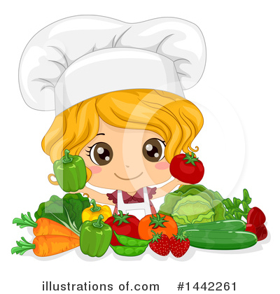 Girl Clipart #1442261 by BNP Design Studio