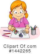 Royalty-Free (RF) Girl Clipart Illustration #1442265