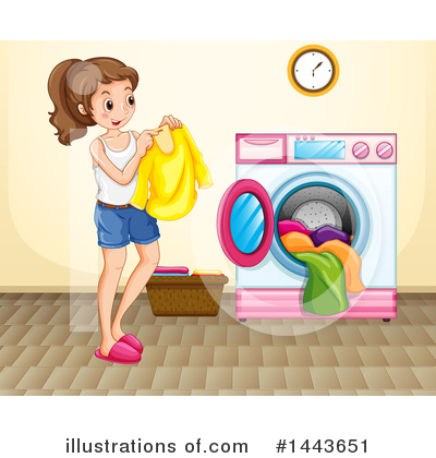 Laundry Clipart #1443651 by Graphics RF