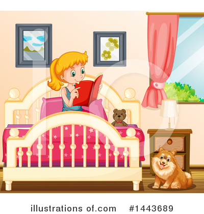 Bed Clipart #1443689 by Graphics RF