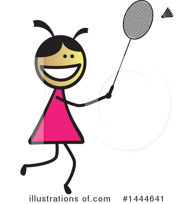 Girl Clipart #1444641 by ColorMagic