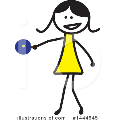 Girl Clipart #1444645 by ColorMagic