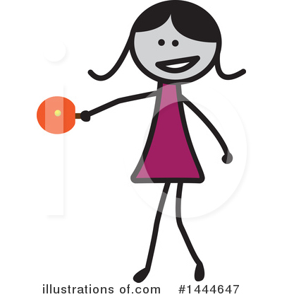Girl Clipart #1444647 by ColorMagic
