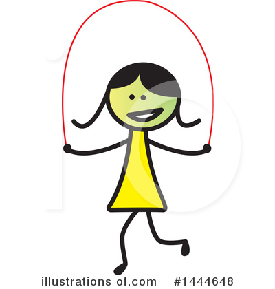 Girl Clipart #1444648 by ColorMagic