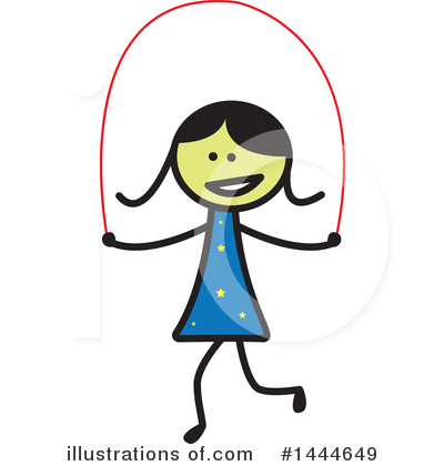 Girl Clipart #1444649 by ColorMagic