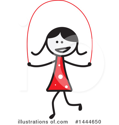 Girl Clipart #1444650 by ColorMagic