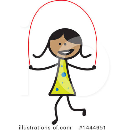 Royalty-Free (RF) Girl Clipart Illustration by ColorMagic - Stock Sample #1444651