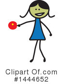 Girl Clipart #1444652 by ColorMagic
