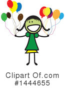 Girl Clipart #1444655 by ColorMagic