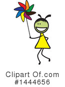 Girl Clipart #1444656 by ColorMagic