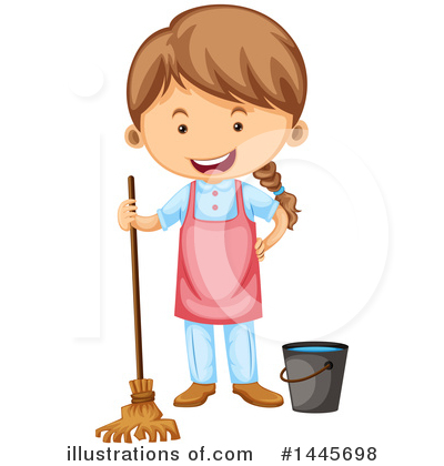 Chores Clipart #1445698 by Graphics RF