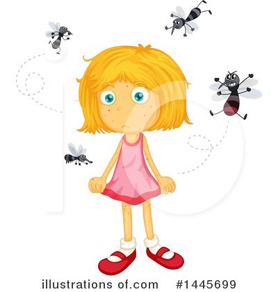 Mosquito Clipart #1445699 by Graphics RF