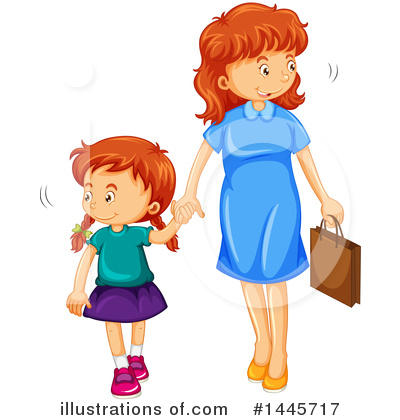 Family Clipart #1445717 by Graphics RF