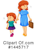 Royalty-Free (RF) Girl Clipart Illustration #1445717