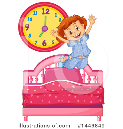 Wake Up Clipart #1446849 by Graphics RF