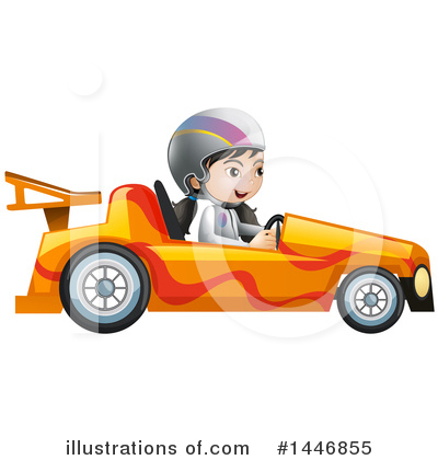 Race Car Driver Clipart #1446855 by Graphics RF