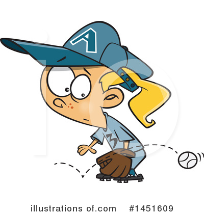 Softball Clipart #1451609 by toonaday
