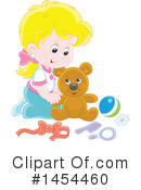 Girl Clipart #1454460 by Alex Bannykh