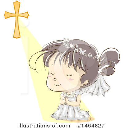 Praying Clipart #1464827 by BNP Design Studio