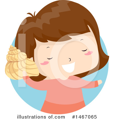 Seashell Clipart #1467065 by BNP Design Studio