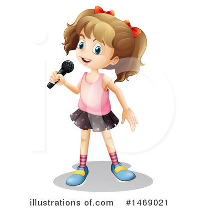 Singing Clipart #1469021 by Graphics RF