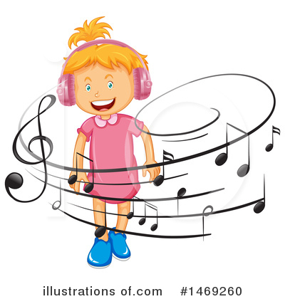 Headphones Clipart #1469260 by Graphics RF