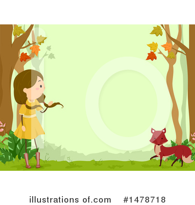 Fox Clipart #1478718 by BNP Design Studio