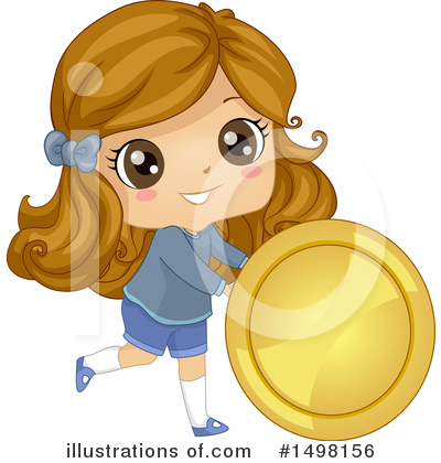 Coin Clipart #1498156 by BNP Design Studio